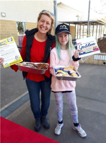 Harrison School Cake Stall For Childhood Cancer Awareness Month 1