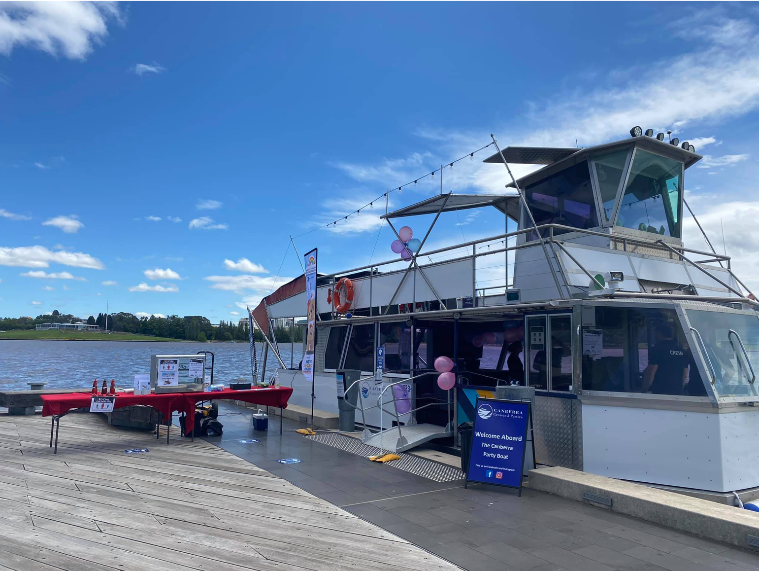 Canberra Cruises & Parties Open Day By The Lake 1