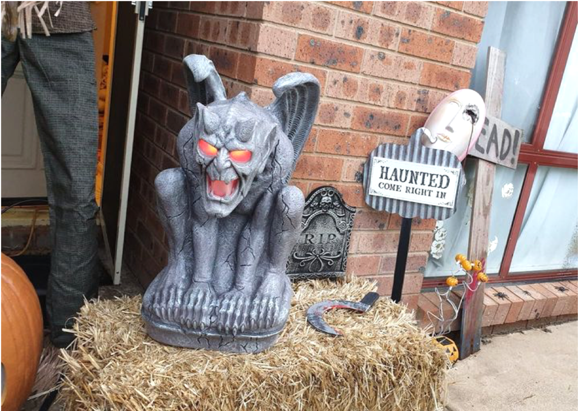 Canberra's Haunted Chop Shop Halloween Display 1