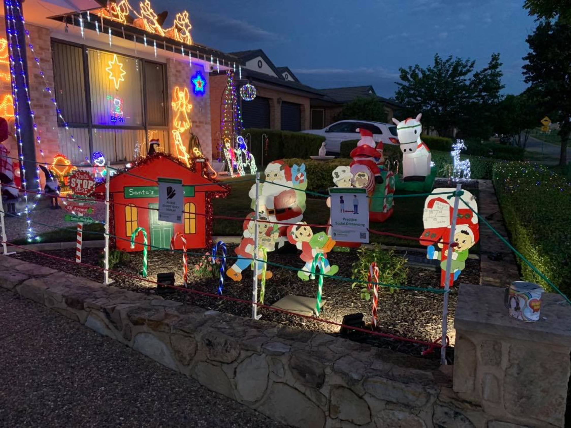 Dainere's Rainbow Christmas Lights Of Hope And Joy 2020 1